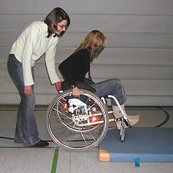 Rollstuhl Plötzlich Im condition