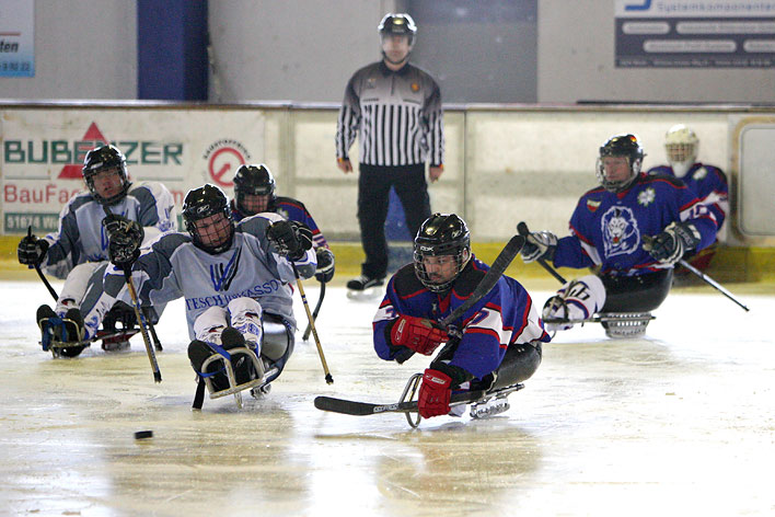 Sledge-Eishockey - Foto: Christian Melzer