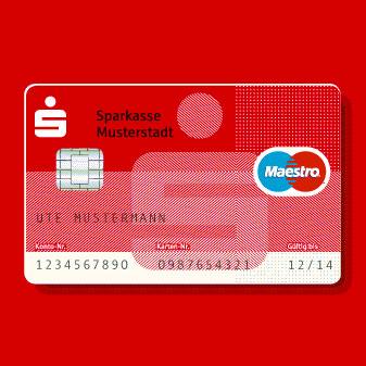 Neue Sparkassencard