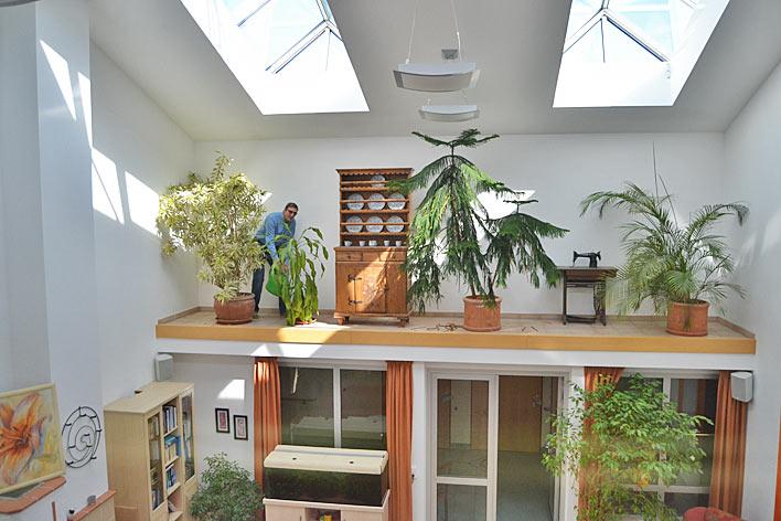 stadt wiehl marcello carrara k mmert sich ehrenamtlich um die pflanzen im johannes hospiz. Black Bedroom Furniture Sets. Home Design Ideas
