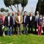Wiehler Delegation mit B?rgermeister Ulrich St?cker zu Besuch in Yoqne'am/Israel
