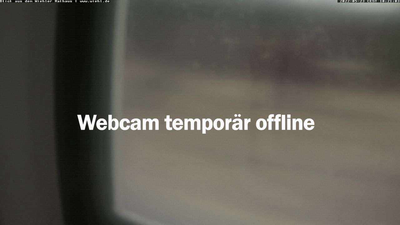 Wiehler Webcam - Rathausvorplatz